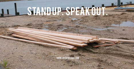 Stand up. Speak out.