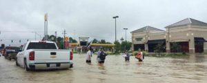 Flooded Street in Louisianna