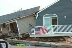 destroyed homes after Sandy