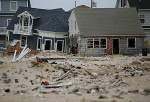 destruction of homes after Superstorm Sandy