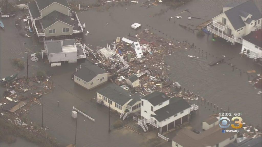 destruction of homes after Superstorm Sandy